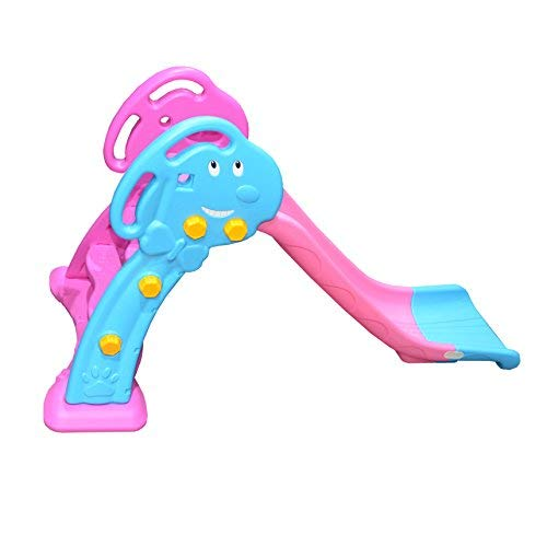 Toytexx Safety layful Big Slide Set Children Slide Ladder-Pink Color by Toytexx (Image #2)