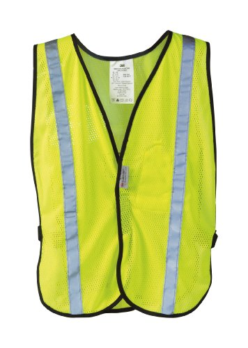 (3M Reflective Clothing, Day and Night Safety Vest)
