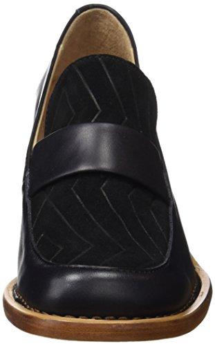 Punta Zapatos S567 con Tacón Cerrada Restored Ebony Vesubio de Neosens para Mujer Negro Debina Ebony HTcqURAXw