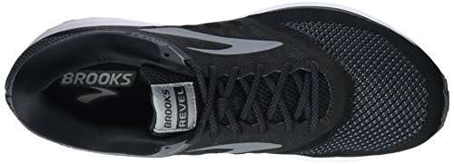 Brooks Revel, Scarpe da Running Uomo Nero (Black/Anthracite/Primergrey)