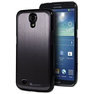 GreatShield TERRA Series Brushed Metal + PC Cover Case Skin for Samsung Galaxy Mega 6.3 GT-I9200 (Gunmetal/Black)