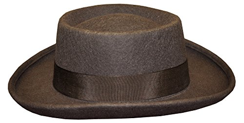 - UHC Adult Men's Planter Panama Style Straw Summer Hat Costume Accessory (Brown), XL