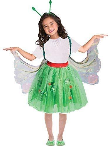 Caterpillar Butterfly Costumes - Girls Official Very Hungry Caterpillar Butterfly Mini Beast World Book Day Week