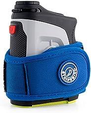Stripebird - 2.0 Slim Golf Players Magnetic Rangefinder Wrap Mount (Form Fitting Strap) - Easily Access Range