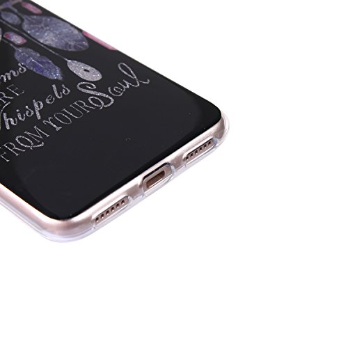 Huawei P8 lite 2017 Bling Case, Huawei P8 lite 2017 Cover, BONROY® Ultra-Thin Soft Gel TPU Silicone Case For Huawei P8 lite 2017, Luxury Glitter Sparkle Perfect Fit Slim Sturdy Bumper Scratch Resist P Dreamcatcher