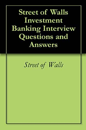 Investment banking interview questions books skattefradrag livsvarig pension and investments