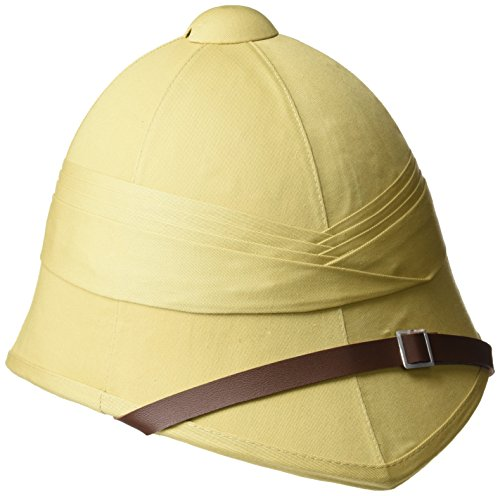 (Mil-tec British Foreign Services Style Khaki Tropical Pith Helmet)