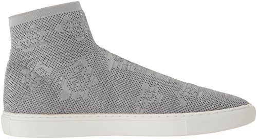 Kenneth Cole New York Mujeres Keating Stretch Knit High Top Sneaker Dust Grey