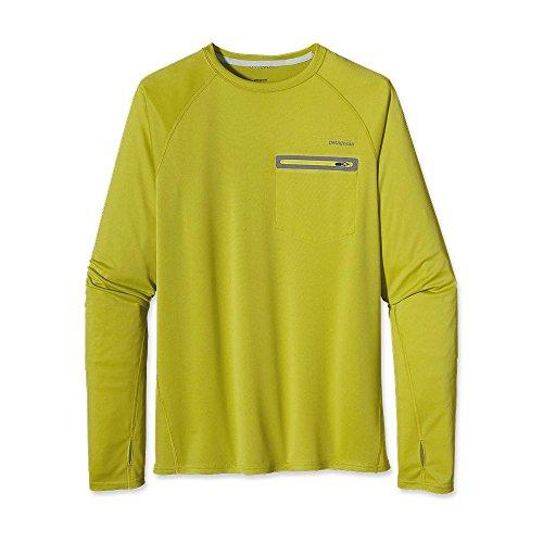 Patagonia Men's Sunshade Crew Folios Green XXL Patagonia Crew Shirt