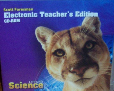 Electronic Teacher's Edition Grade 5 (California Science): Scott ...