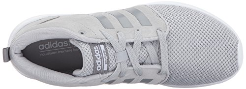 White 10 Crystal M Grey Grey Racer Two Grey QT White W Crystal Neo US CF Three Women's Shoes Running Mid Grey Three Two adidas 4Hq1wRxBT