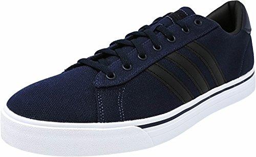 adidas Men's Cloudfoam Super Daily Fashion Sneakers, Collegiate Navy/Black/White, (11.5 M US)