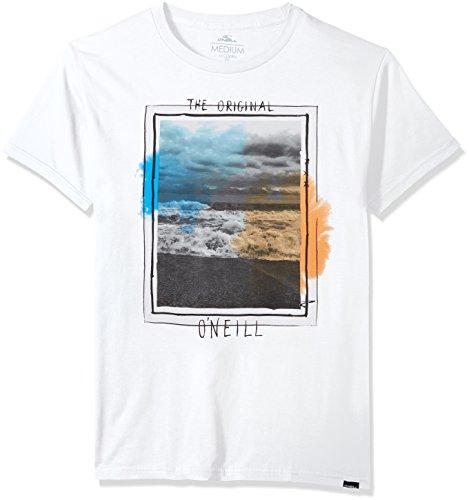 O'Neill Men's Photoreal Modern Fit T-Shirt, Tide White, M