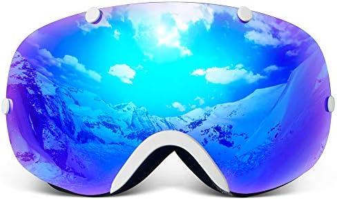 43f7ac3a193b Amazon.com   COPOZZ Kids Ski Goggles