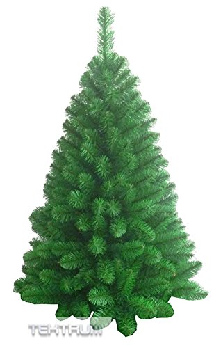 TEKTRUM 4-feet PREMIUM ARTIFICIAL CHRISTMAS FIR TREE WITH TAPERED BRANCH TIPS FOR CHRISTMAS/HOLIDAY/PARTY (Model...