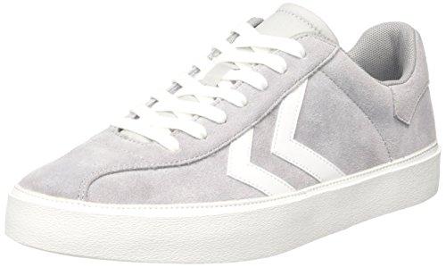 Hummel Unisex-Erwachsene Diamant Suede Sneaker Grau (Alloy)