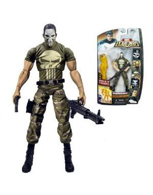 Marvel Legends Exclusive Nemesis Build-A-Figure Wave Action Figure Punisher (...