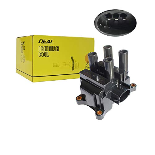 (DEAL Set of 1 New Ignition Coil (4 coil packs in the unit) Fit Ford/Mazda/Mercury (Without Distributor) B2300 Tribute)
