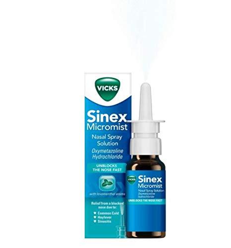 Vicks Micromist Nasal Pump Spray Case of 6