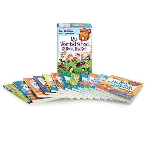 Books : My Weirdest School 12-Book Box Set: Books 1-12 (My Weird School)