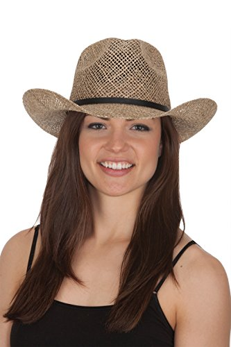 Jacobson Straw Cowboy Hat -...