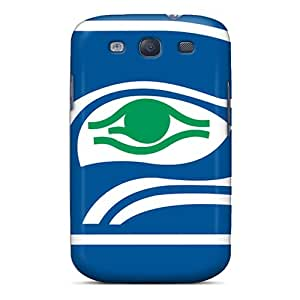 Galaxy S3 Case, Premium Protective Case With Awesome Look - Seattle Seahawks