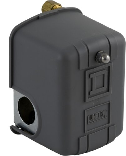 Square D by Schneider Electric FHG12J55XCP 150 PSI  Pumptrol Air Compressor Switch with 2-Way Pressure Relief