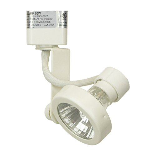 Direct-Lighting 50067 White GU10 base Line Voltage Track Lighting Head