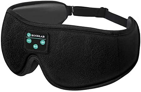 XOTUUY Sleep Headphones Bluetooth Eye MaskTech Gadgets Sleeping Headphones for Side Sleepers 3D Sleep Eye MaskUltra-Thin HD Stereo Speakers Perfect for Sleeping Air Travel Meditation