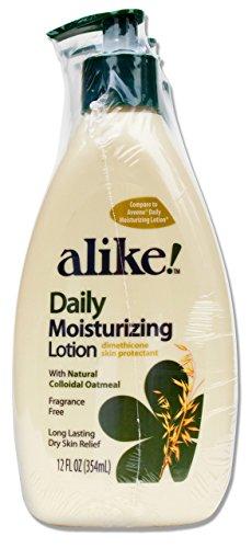 alike Dimethicone Skin Protectant Daily Moisturizing Lotion, 12 Fluid Ounce (Pack of 3)