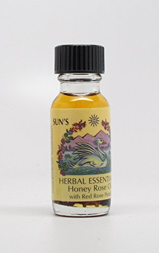 Honey Rose - Sun's Eye Herbal Essential Oils - 1/2 Ounce ()