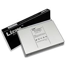"Lizone High Performance Laptop Battery for Apple A1175 A1211 A1226 A1260 A1150 MacBook Pro 15"", Aluminum Body as Original (Not Plastic) Super Capacity Li-Polymer 5800mAh"
