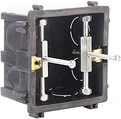 Teekit Herramienta de reparaci/ón de Accesorios el/éctricos Tornillos de Casete para Interruptor de Pared