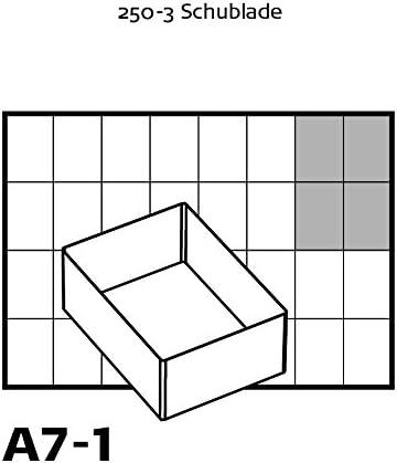 raaco 136471 55 A7-1 Godet Transparent