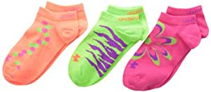 Under Armour Girl's Mix and Match Socks, Assorted, Youth Large