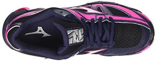 Multicolor de Bolt Voleibol Mujer para Zapatos Mizuno Wave Blackwhitepeatcoat Wos q8H48Pw