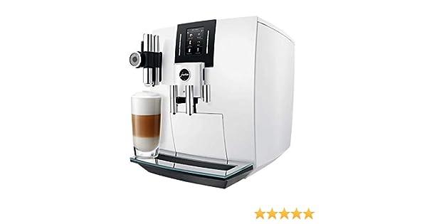 JURA J6 Independiente Máquina espresso Blanco 2,1 L 16 tazas ...