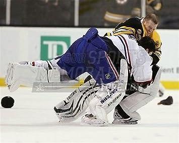 9792362b7aa Amazon.com  Tim Thomas Boston Bruins Carey Price Canadiens Fight 8x10 11x14  16x20 1519 - Size 8x10  Sports Collectibles