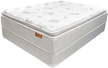 Norwood Aldana 8335 Eloquence Plush Pillow Top Hybrid Gel Memory Foam Inner Coil Mattress Twin