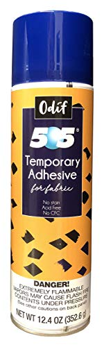 Odif USA 505 Spray and Fix Temporary Fabric Adhesive 12.4oz ()
