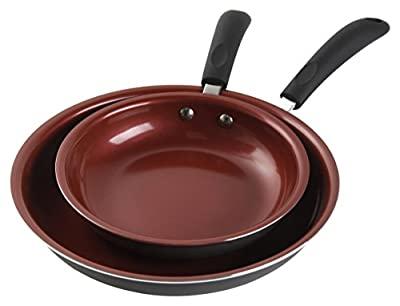 Gibson Home Hummington Ceramic Non-Stick Fry Pan Set from Gibson
