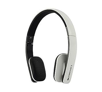 Zebronics Happy Head Headphones  White  Over Ear