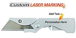 Custom Laser Engraved Gerber Eab Pocket Knife Box Cutter (22-41830)