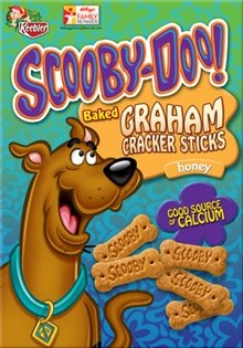 Keebler Scooby-Doo! Graham Cracker Sticks - Honey - 11 oz by Keebler