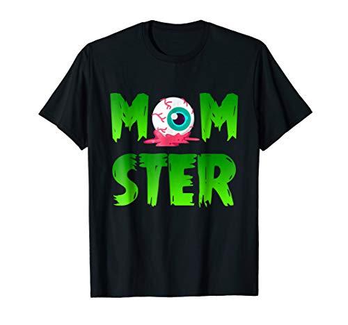 Halloween Mom-ster T Shirt Halloween Costume Gift For Mom