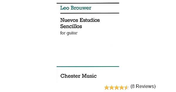 Nuevos Estudios Sencillos: For Guitar: Amazon.es: Brouwer, Leo ...