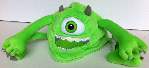 Disney Monster Inc Mike Plush Costume Hat, Halloween Accessory -