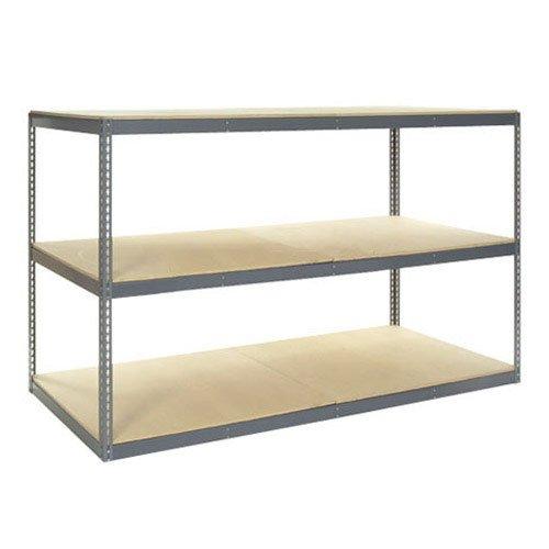 (Record Storage Rack with 36 Polyethylene File Boxes, 96
