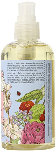 Olivina Hand and Body Wash with Pump, Wild Cherry Almond, 9 Fluid Ounce