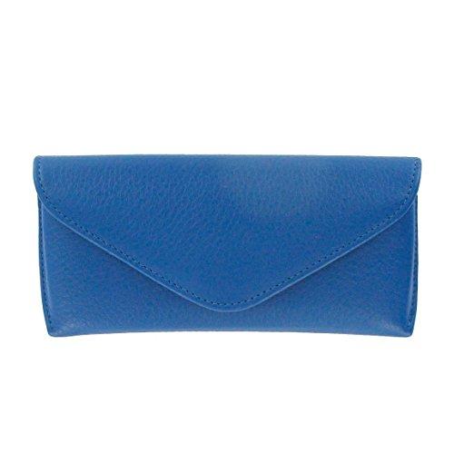 Eyeglass Case - Full Grain Leather - Cobalt ()